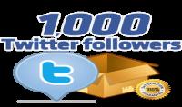 اضافة 1000 متابع حقيقي ومتفاعل على تويتر بـ