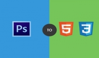 تحويل ملفات psd الى HTML CSS