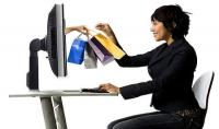 التسوق عبر الانترنت