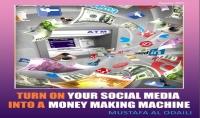 نسخة من كتاب: حول قنوات التواصل الاجتماعي لآلة صنع مال