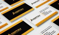 سأصمم لك كرت شخصي  بطاقة أعمال  إحترافي Business card