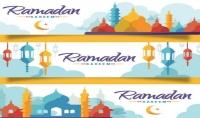 تصميم عدد 2 صور خاصة بمعايدات رمضان و عيد الفطر باسمك الخاص