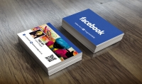 تصميم بطاقة اعمال لحسابك او صفحتك على الفايسبوك