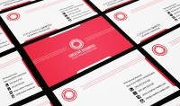 تصميم 50 قالب مفتوح للعمل عليها لبطاقات اعمال من تصميمي