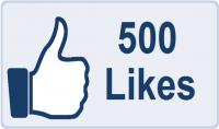 500 like لصورتك الشخصية على الفيس بوك