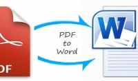 تحويل ملف pdf الى ملف word او العكس