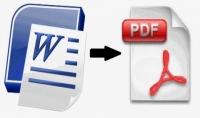 تحويل ملفات الوورد  word  إلى PDF بإحترافية