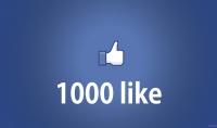 اضافة 1000 اعجاب و 100 تعليق لمنشورك أو صورك في الفايسبوك
