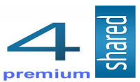 اعطيك حساب  4shared  مميز  premium  مساحته التخزينية 100GB
