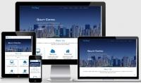 تصميم المواقع للشركات الصغرى والاشخاص متوافق مع جميع الاجهزة  one page website    responsive