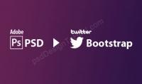 تحويل اي psd الي html5 css3 bootstrap