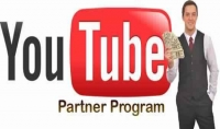 عمل قناة يوتيوب بارتـنـر مربوطه بحساب أدسنس للربح منه $5