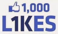 1000 معجب عربي حقيقي متفاعل لصفحتك علي الفيس بوك