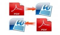 تحويل ملف وورد الي PDF و العكس