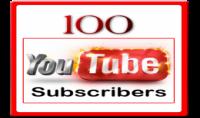 100 مشترك يوتيوب