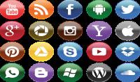 يمكنني إنشاء حساب جديد على Facebook و Gmail و Yahoo و outlook و Skype و youtube و فتح برنامج ال Whats up على جهاز الكمبيوتر