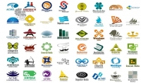 تصميم ٤ شعارات بمختلف الاشكال