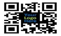 صناعة QR code يتوسطه ال logo اي الشعار