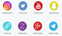 إنشاء صفحة ويب تجمع بين جميع حساباتك على الشبكات الإجتماعية