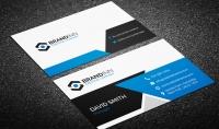 تصميم بطاقة اعمال Business Card باشكال والوان رائعه ومختلفة