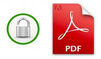 تأمين ملفات ال pdf برقم سري من اختيارك