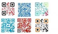 سوف اصنع QR code بمنتصفها الشعار  logo وبشكل احترافي..