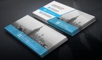 تصميم بطاقة عمل  carte visite business card