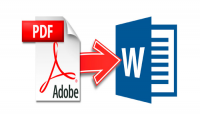 تحويل ملف pdf الى Word و العكس