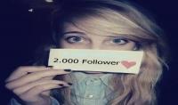 إضافة 2000 متابع اجنبي لحسابك على أنستغرام