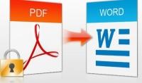 كتابة ملفات pdf إلى word بمعدل 500 كلمة 5دولار