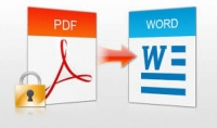تحويل pdf الى word