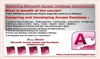 تدريب احترافي علي قاعدة بيانات ميكروسوفت أكسس