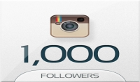 زيادة متابعين الانستجرام ل1000 متابع