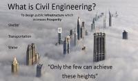تدريس مواد الهندسة المدنية والمساعدة في اختيار تخصص مناسب