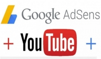 قناة يوتيوب ربحية مربوطة بأدسنس مقابل 5 $