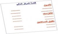 عمل القوائم المالية المركز المالي الدخل التدفقات النقدية التغيرات