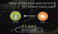 خدمة ربط دومين شركة جودادي بمدونة بلوجر بطريقة صحيحة و آمنة