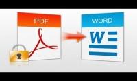تحويل ملفات word الى pdf والعكس