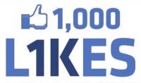 سأقوم بجلب 1000 لايك لصفحتك فيسبوك بجودة عالية ومتفاعلين وحقيقين