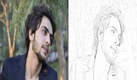 تحويل صورتك الشخصية الى صورة مرسومة بقلم الرصاص