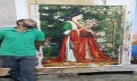 رسم لوحات فنيه او حوائط
