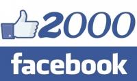 2000 معجب حقيقي لصفحتك علي الفيسبوك مقابل 5$