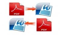 تحويل ملفات Word الى PDF او العكس