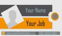 عمل بطاقة تعريفية مميزة عن نفسك فقط ب 5$