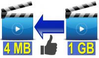 ساقوم بتصغير مساحة فيديوهاتك مع الحفاظ علي الجودة   باحتراف مقابل 10$