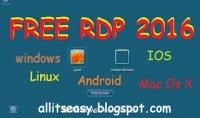 طريقة الحصول علي RDP لسرعة انترنت عالية جدا ومواصفات روعة