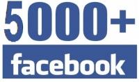 5000 متابع على فيسبوك