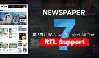 إضافة دعم اللغة العربية RTL إلى قالب 7 Newspaper