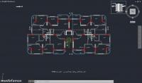 رسم مخططات بناء هندسية