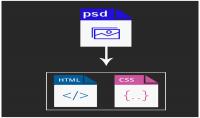 convert file PSD to HTTML5 CSS3